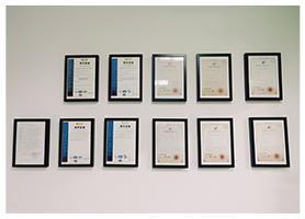 多项技术证书