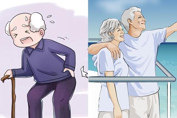 老人关节退变