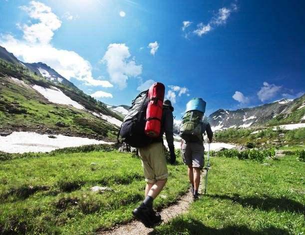 爬山登山爱好者易关节运动损伤