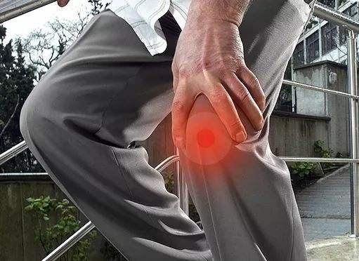 膝关节疼痛关节炎