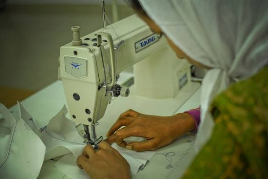 服装厂女工